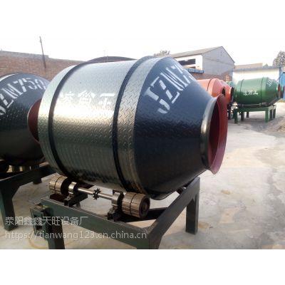 敦煌鑫旺350-750型手动上料小圆灌搅拌机搅拌均匀