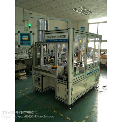 三极管散热片自动锁螺丝机,NACHi机械手