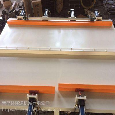 家具厂框架组装机 油压拼板机组框机 木门家具门框架组拼机生产厂家 林泽通