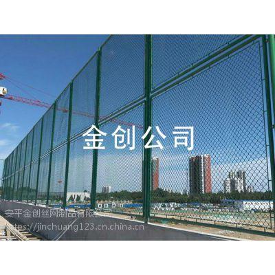 实体厂家 加工定制浸塑镀锌丝球场围网 体育场围网 运动场护栏网