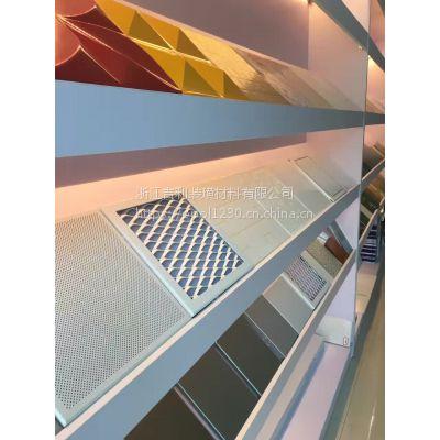 艺术花纹铝单板制造流程 镂空铝单板工程案例