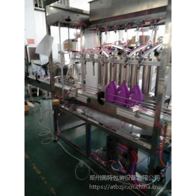 郑州厂家自动桶装洗手液灌装机