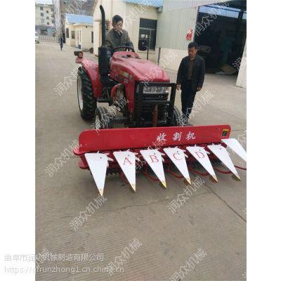 小型大豆牧草收割机 手扶前置式收割机 润众