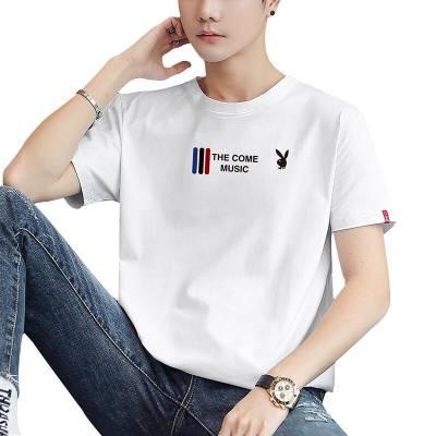 哪有便宜男装T恤短袖批发厂家 时尚韩版男装短袖批发摆地摊货源