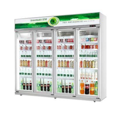 绿缔 保鲜展示柜 冷藏饮料柜 饮料冷藏柜