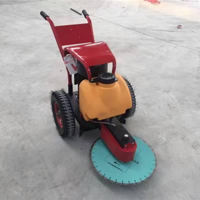奥斯顿供应500手推式地面切桩机价格