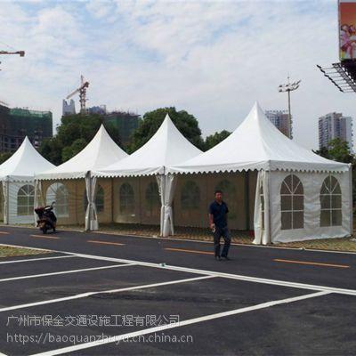 佛山欧式帐篷租赁 A字型欧式篷房搭建 5*5尖顶帐篷租赁