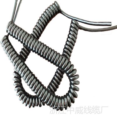 智慧的火花4芯tpu弹簧线具有良好的弹性和柔韧性低机械和抗化能力