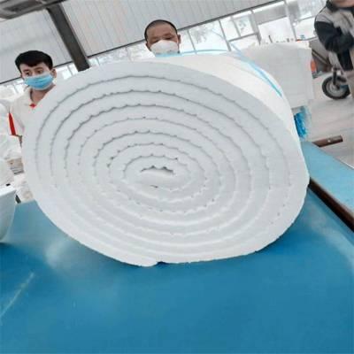 茂名A级环保硅酸铝针刺毯 规格 国美硅酸铝甩丝毯