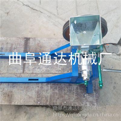多花型杂粮食品膨化机 家用三轮车米棒机 玉米颗粒膨化机 通达定制