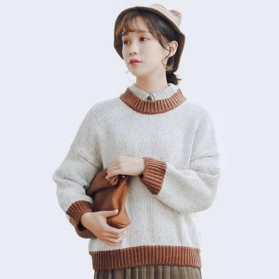 厂家批发春秋冬新款女装显瘦加厚修身长款系带开衫毛衣外套好质量