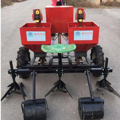 禹鸣机械2CM-2 土豆播种机 双垄双行 马铃薯起垄施肥播种一体机