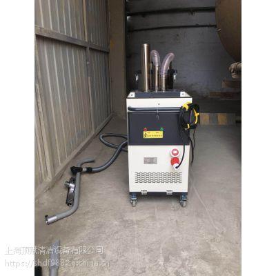 威德尔7.5KW大功率工业吸尘设备水泥厂装罐车间用吸水泥灰尘用吸尘器