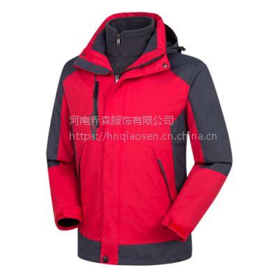 冲锋衣厂家QS068,冲锋衣定做,冲锋衣价格,郑州冲锋衣加工品牌刺绣logo字