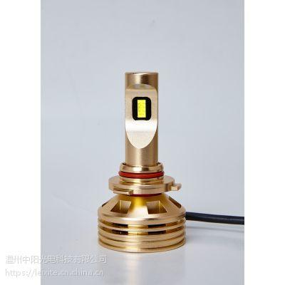 雷西特9005高亮度LED汽车灯泡:高亮、聚光、强散热、节能、无损安装