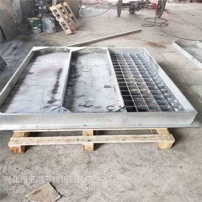 新云 实力厂家定制批发不锈钢隐形盖板 正品304不锈钢下水道盖板工业品