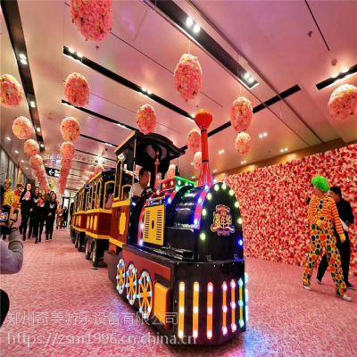 郑州奇美厂家直销无轨小火车 景区观光仿古火车 商场专用托马斯火车