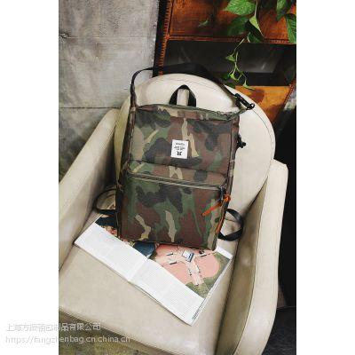 上海定制供应时尚双肩背包 学生书包 旅行包 可添加logo