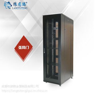 狼图腾机柜 豪华H型 37U 600*900 1.8米 网络机柜 平网门
