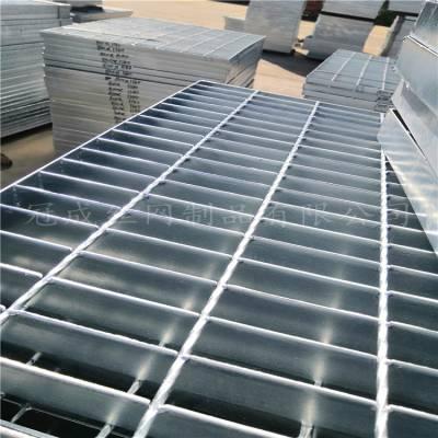 镀锌钢格栅板外形尺寸/Q235钢格栅板哪里有卖/冠成