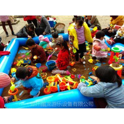 供应决明子沙池 ,户外儿童乐园设备,加厚PVC玩水池