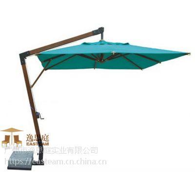 供应逸思庭铝合金庭院伞 高档铝合金 高档遮阳伞