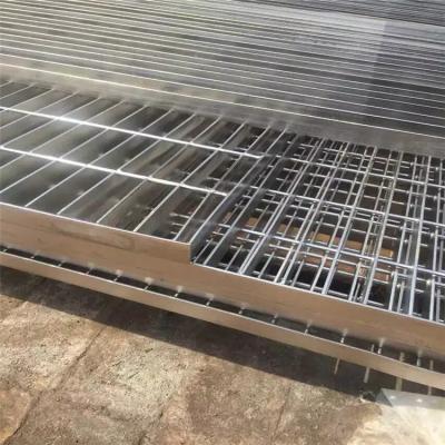 扇形踏步板 踏步梯子板 钢格栅板批发