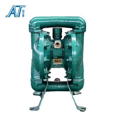 2018新型 气动型小体积 低噪声耐磨防爆隔膜泵 矿山排污 安泰泵业
