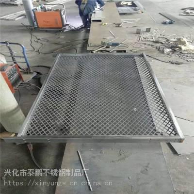 新云 厂家直销水沟盖板 不锈钢板防滑盖板 线性排水沟盖板