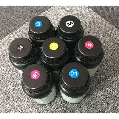 爱普生喷头使用 可以满足在薄膜材料(PVC)上的弯折效果 台湾三皇UV墨水