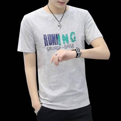 厂家直销大量便宜T恤韩版时尚夏季短袖便宜货源几元钱批发