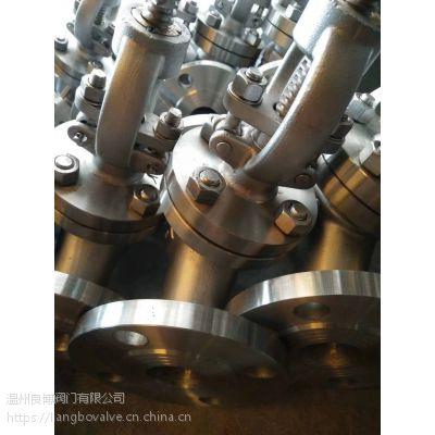 供应不锈钢J41W法兰截止阀、304手动截止阀
