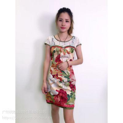 漓月风民族风系列连衣裙 品牌折扣店货源 一手货源