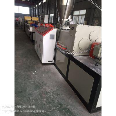 青岛厂家专业制造竹木纤维集成墙板设备/护墙板设备/木塑墙板设备