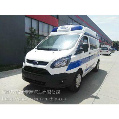 福特V362新全顺2.0T救护车厂家直销救护车价格救护车照片