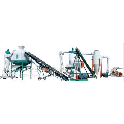 玉米秸秆家畜饲料机 全国新式家禽饲料机 哪有产量颗粒机