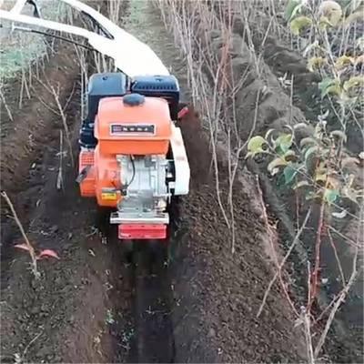 羊肚菌种植开沟覆土机 操作轻便开沟机