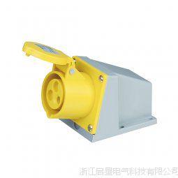 启星经济QX.123-4 3芯32A IP44工业明装插座