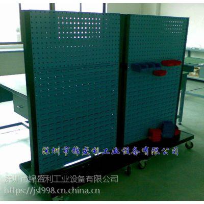 锦盛利LSJ-1115 东莞双面螺丝架 东莞单面物料架 东莞零件盒推车