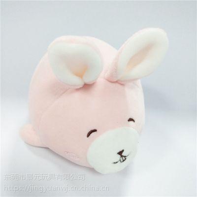 动物毛绒玩具兔子公仔 可来图打样设计 OEM加工定制生产厂家