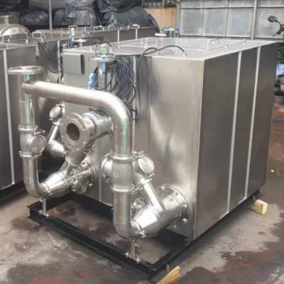 鑫溢 切割污水提升器 负压真空污水提升器 详情
