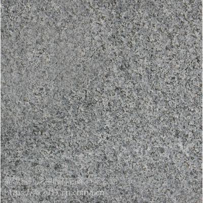 厂家直销花岗岩芝麻黑G654荔枝面芝麻灰色光面烧面园林建筑与市政道路工程地铺干挂石