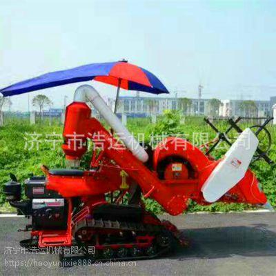 现货出售 多功能小型水稻收割机 履带式水稻联合收割机