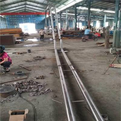 不锈钢管链输送机厂家 石灰粉盘链提升机