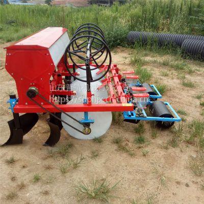 油菜籽滴灌带铺设精播机 四轮带垄上播种机 普航牌蒲公英播种机