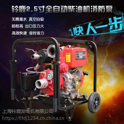 森林防火用2.5寸柴油机消防泵铃鹿