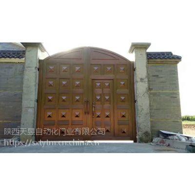 庭院铜门 别墅外装铜门生产厂家