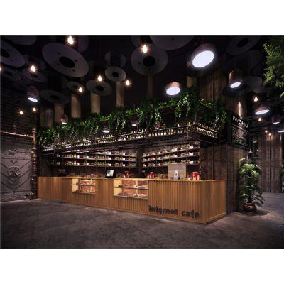 合肥网咖装修利用灯饰来塑造网咖整体环境