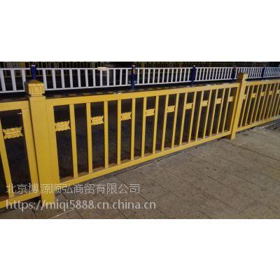 陕西Q235HC京式交通隔离栏,烤漆围墙栅栏适合任何地方使用,喷塑道路围栏