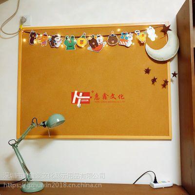 中山挂式软木板照片墙包邮3